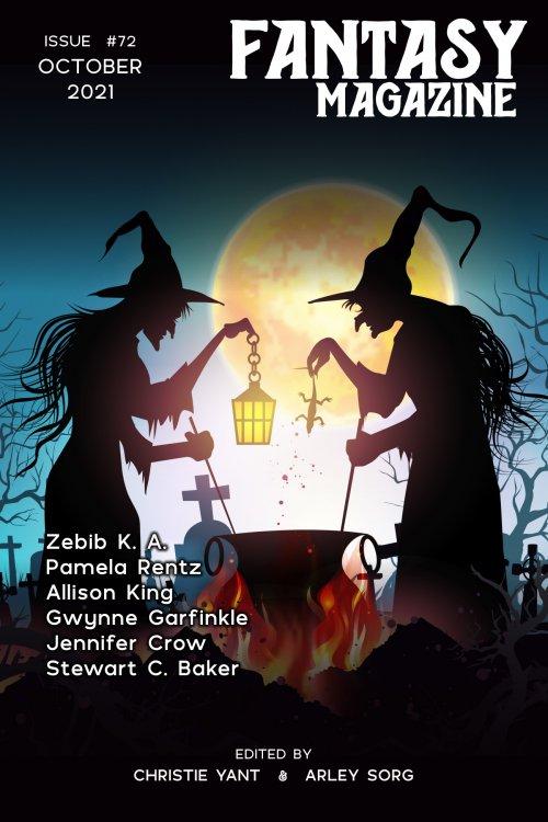 Fantasy Magazine October cover art