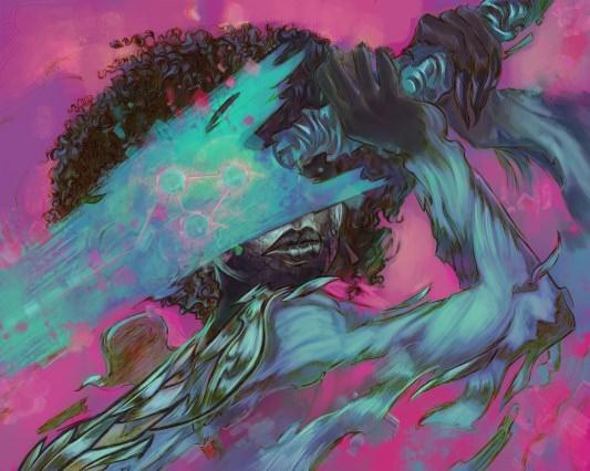"Kaiju maximus®: ""So Various, So Beautiful, So New"" by Kai Ashante Wilson (art by Odera Igbokwe)"